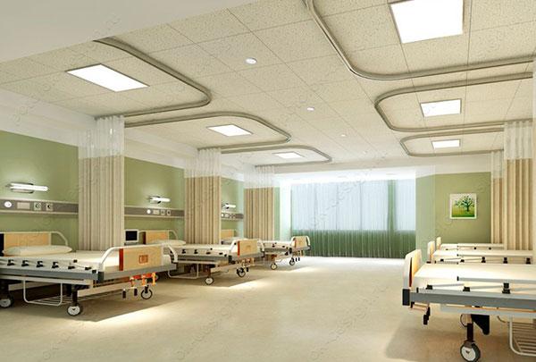 дизайн потолка в медицинском учреждении